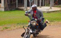 Nigerian Motorbike Rider Sleeps While Riding Okada