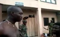 Soldiers punishing Citizens through slaps